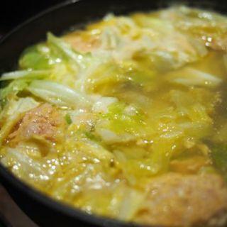 純シャモロックスープの炊きだんご(新橋シャモロック酒場 )