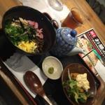 鹿児島名物鶏飯とチキン南蛮のセット