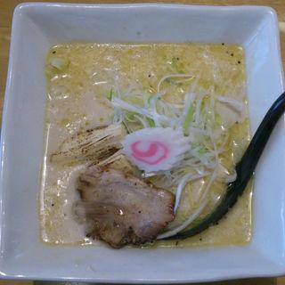 三河式豆乳ラー麺(日本晴れ (にほんばれ))