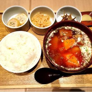 だしスープ膳【はなれ】牛たんのボルシチ(日本橋だし場 はなれ)