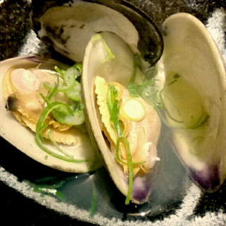 ビノス貝の酒蒸し(旬菜 てる)