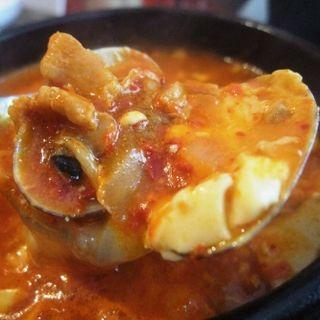 チーズスンドゥブ(明洞純豆腐 新大阪店)