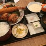 メガ海老フライ定食