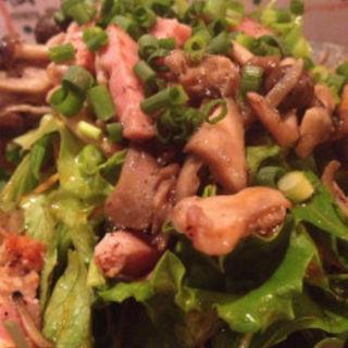 がんす豆腐とむき枝豆和え(晴れのち晴れ )