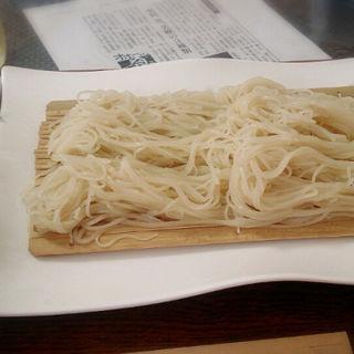 更科のざる蕎麦(更來 (サライ))