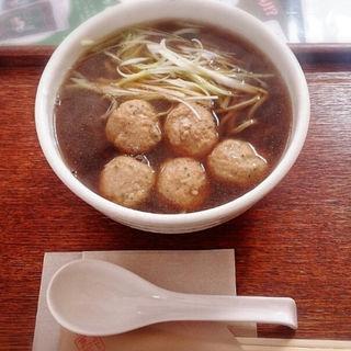 鶏つくね蕎麦(更來 (サライ))