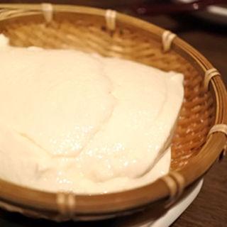 本格手作りざる豆腐(月の蔵人 (つきのくらびと))