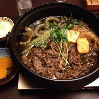 すき焼き(月亭 新宿本店 (つきてい))
