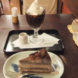 ケーキセット(朝倉 )