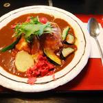 野菜オムカレー