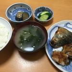 サバ塩焼き定食
