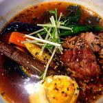 豚肉のスープカレー スタンダードスープ(黒)