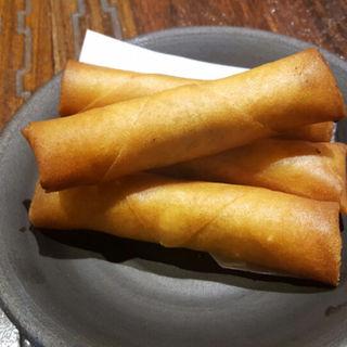 生ハム&チーズ春巻き(東方廳 浜松町店 (ドンファンティン))