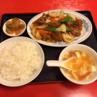 酢豚(東方紅飯店)