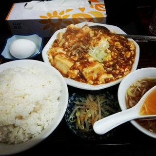 麻婆豆腐定食(松ちゃんラーメン)
