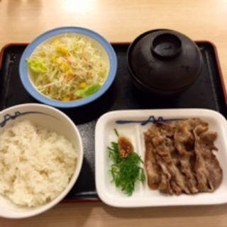 五十周年記念 牛焼肉定食(松屋 川崎西口店 )