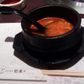 おぼろ豆腐チゲ(松屋 阪急百貨店うめだ本店 )