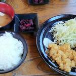 チキンカツ&クリームコロッケ定食(林屋本店 )