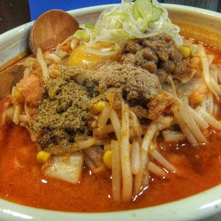 キムチ納豆 魚(柳家 仙台東口店 (やなぎや))