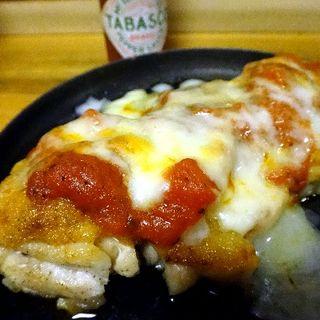 鶏トマトソース焼