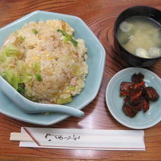 ニンニク焼豚チャーハン(栄楽 )