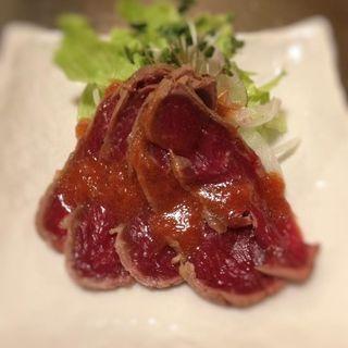 馬肉たたき(桜なべ みの家 本店 (みのや))