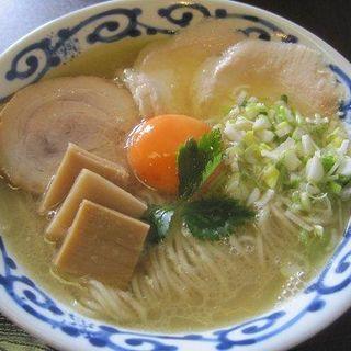 節系鶏塩白湯そば(桜木製麺所 )