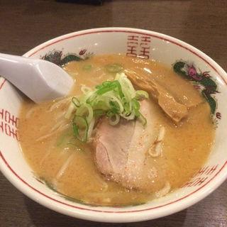 味噌ラーメン ハーフサイズ(梅光軒)