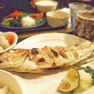 甘鯛の塩焼き定食(梅山鉄平食堂 )