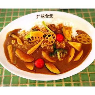 11種類の野菜カレー(梨花食堂 天満別館)