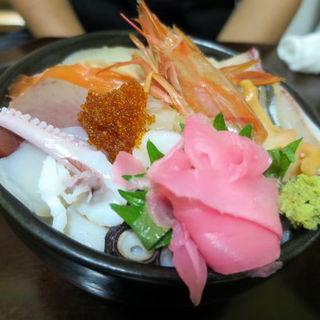 海鮮丼大盛