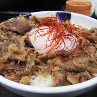 肉玉丼(極楽うどん TKU (ティーケーユー))