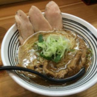 塩ラーメン(極麺 青二犀 (ゴクメン アオニサイ))