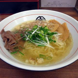 金の牛かす塩らぁ麺(楽園 )