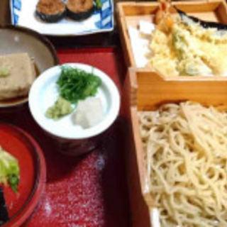 手打ち柚子きり天ぷら蕎麦御膳(権太呂 金閣寺店 (ごんたろ))