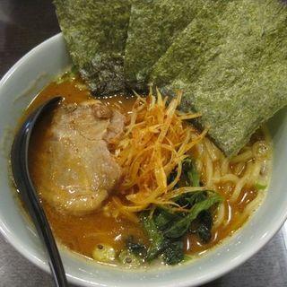 辛味噌豚骨ラーメン(横濱豚骨醤油 ラーメン佐原 )
