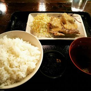 チキンステーキの胡麻味噌マヨ定食(樹家 )