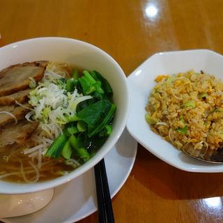 めんセット(チャーシューめん+ミニチャーハン)(橘屋 )