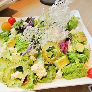 【野菜】お米のおこげサラダ(正しい晩ごはん 白-はく- )