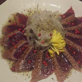 炙りマグロのカルパッチョ(武勇 池袋店 (ぶゆう))