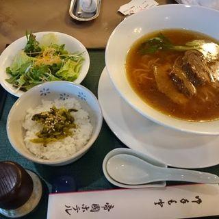 豚角煮麺(水海道ゴルフクラブ )