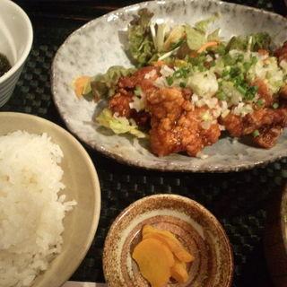 鶏の唐揚げ油淋鶏ソース(沖縄時間 (おきなわたいむ))