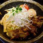 茶色油そば(味噌)(河内の中華そば 醤 (ヒシオ))