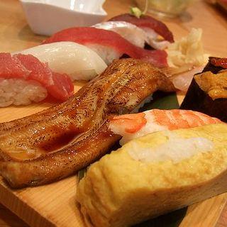 魚がし握り(沼津 魚がし鮨 羽田空港店 (ぬまづうおがしずし))