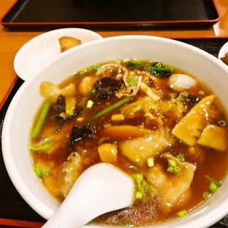 五目つゆ麺(泰山亭 )