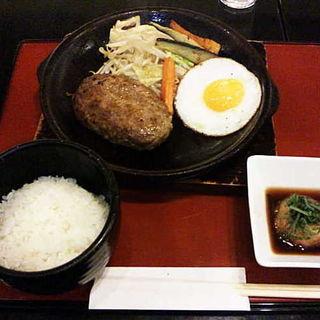 おろしハンバーグ(洋食 浅草軒)