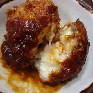 クリームコロッケ(洋食の朝日)