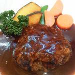 松坂牛のハンバーグ