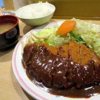 トンカツ定食(L)(洋食屋 双平 (SO-HEY))
