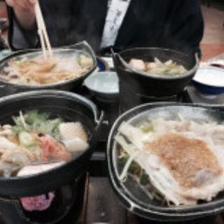 石狩鍋と豚肉のチャンチャン焼き(洞爺観光ホテル)